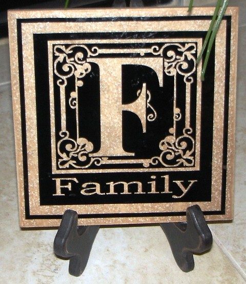 """6"""" x 6""""  """"FAMILY"""" Tile"""